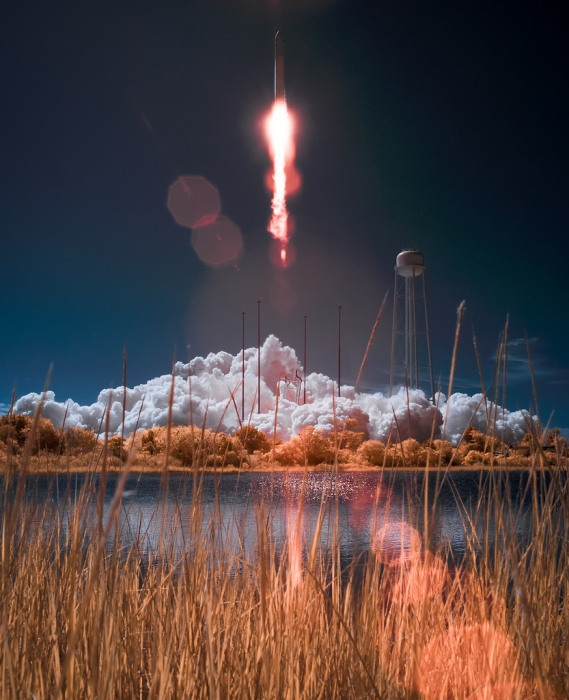 Image: Infrared launch