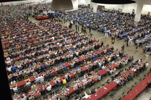 """More than 4,500 attended a """"Magic"""" convention in Las Vegas this summer, a new record for the brand."""