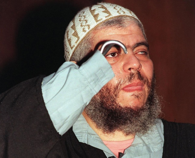Image: Abu Hamza in 2003