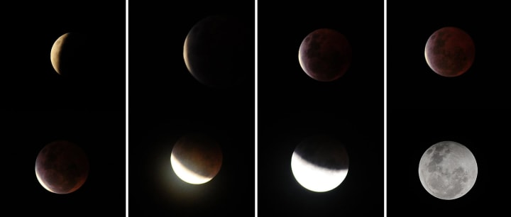 Image: Lunar Eclipse Viewed from Indonesia
