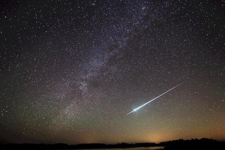 Image: Geminid meteor shower