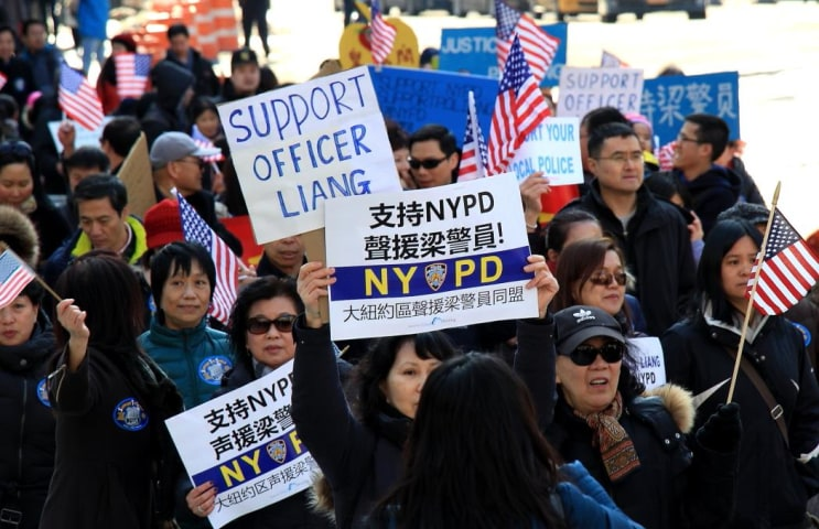 Chinese-American leaders have been calling for accountability, but many in the community believe NYPD Officer Peter Liang's indictment was unjust.