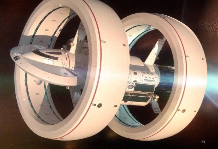 Prototipo de nave hiperespacial: Enterprise IXS