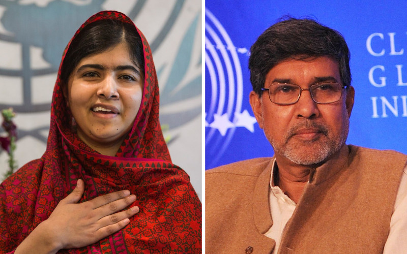 Malala Yousafzai & Kailash Satyarthi jointly win 2014 Nobel Peace Prize
