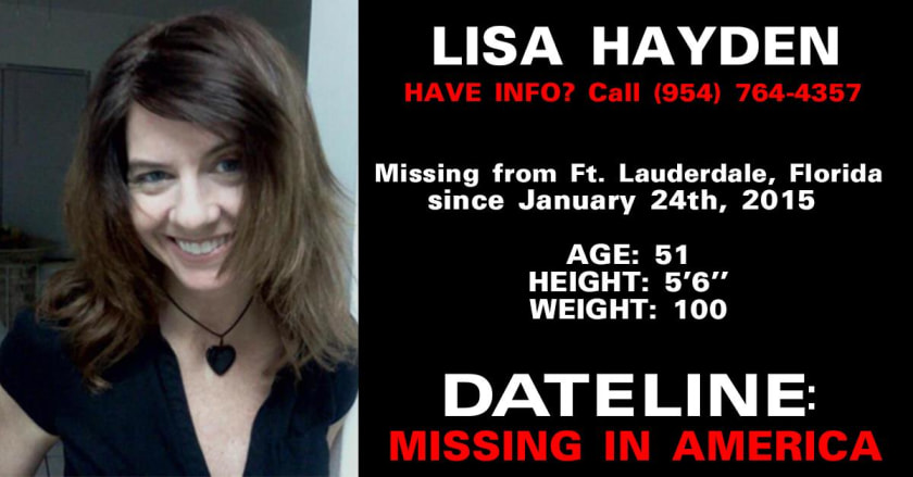 Missing - Lisa Hayden