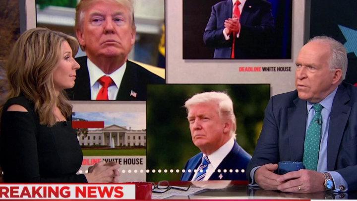 ex-CIA chief Brennan calls Trump unstable, inept, etc/