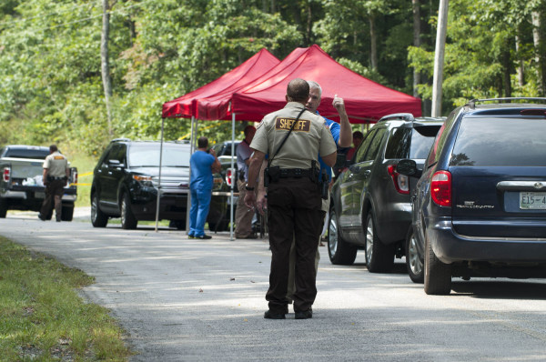 Four people found slain in car near 'quiet' Tennessee community