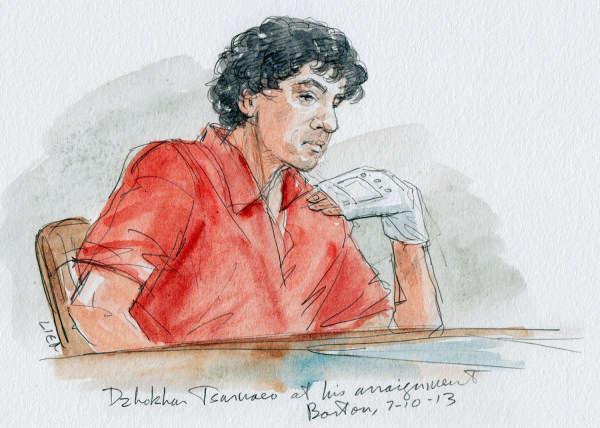 Tsarnaev pleads not guilty as Boston Marathon bombing survivors watch