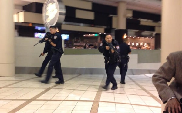 Jitters at LAX: Car crash prompts gunfire reports, causes travelers to flee ...