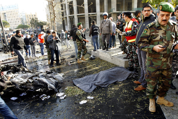 Ex-ambassador to US killed in Lebanon bomb blast; four others slain