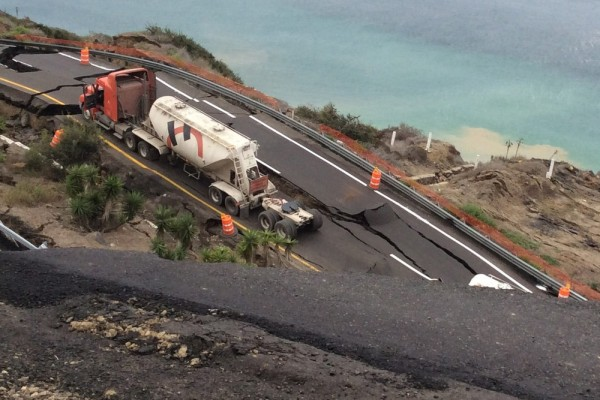 Scenic Mexico coastal highway collapses after rain, small earthquakes: reports
