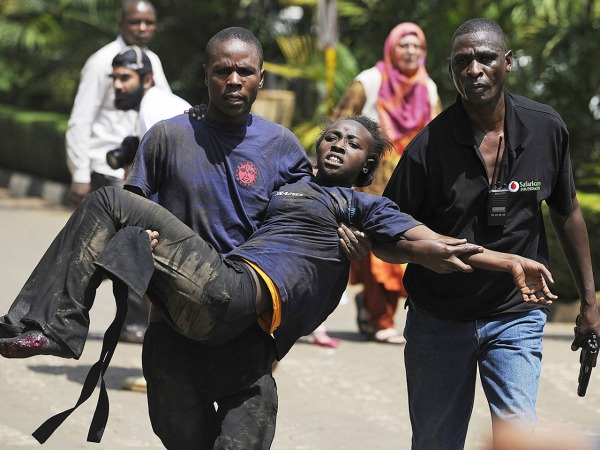 At least 39 dead in Kenya shopping mall attack; Americans among scores hurt