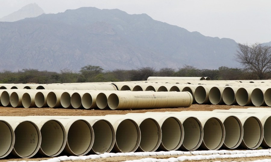Peru invests in massive irrigation project to bring fresh water to its arid west coast