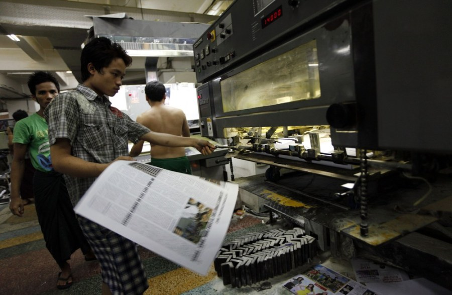 Freedom of the press returns to Myanmar after 50 years