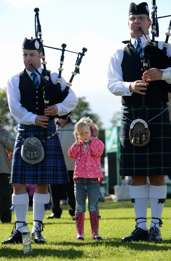Wild scenes at bagpipe world championships