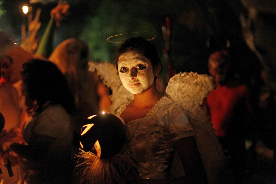 Strange visions from El Salvador's Day of the Dead