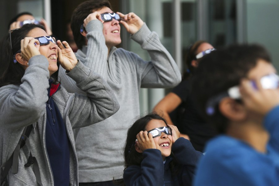 Rare hybrid solar eclipse wows world