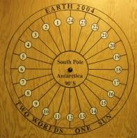 Image: Antarctic sundial