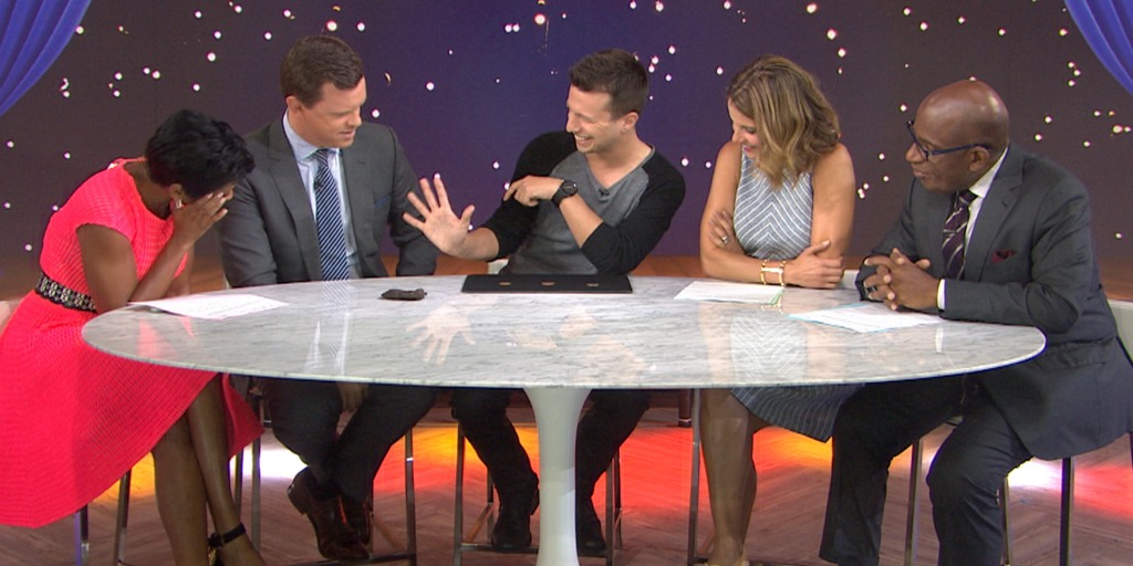 Watch Magician Mat Franco Amaze With His Coin Tricks