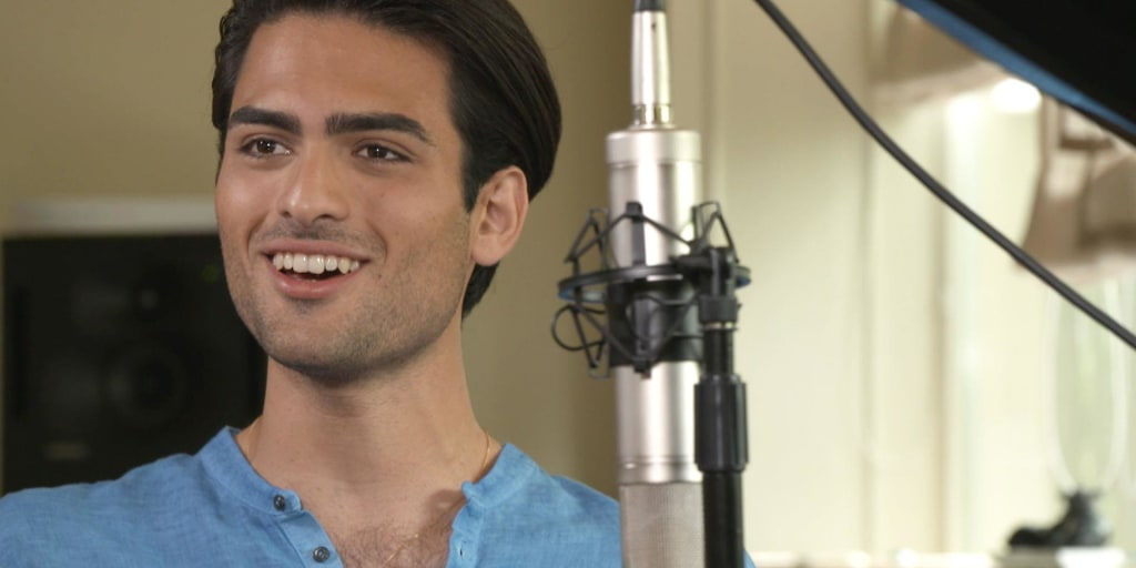 Matteo Bocelli performs 'Can You Feel the Love Tonight' on TODAY