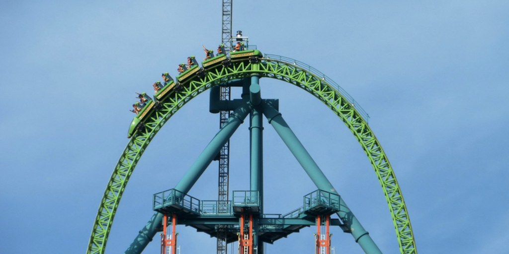 Top 10 tallest roller coasters in America