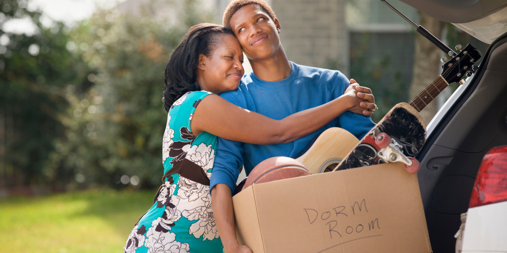 How to deal when a child heads off to college: A parent's