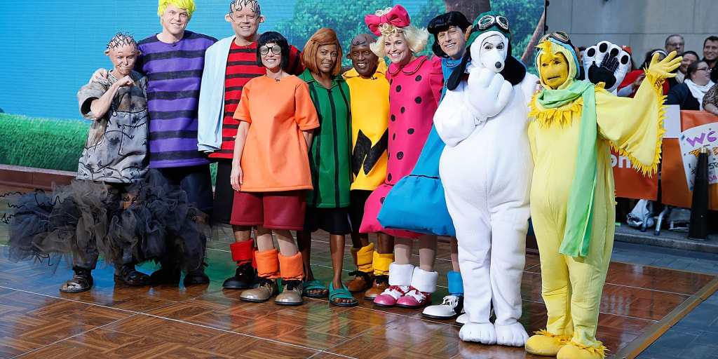 Today Show Hosts In Halloween Costumes 2020 TODAY goes nuts for Halloween: 'Peanuts'! See our Charlie Brown