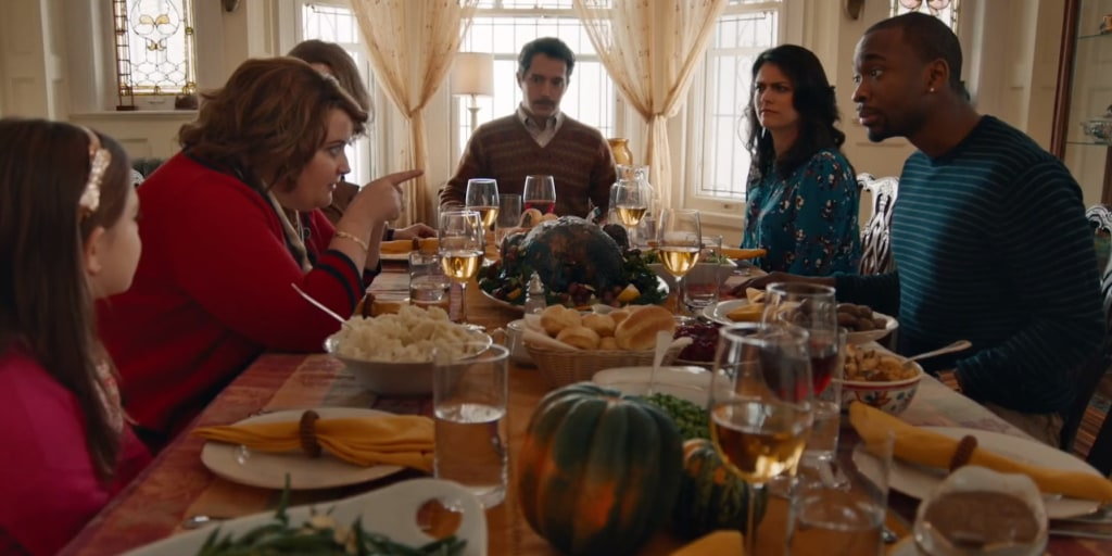 Christmas Miracle Snl.Adele S Hello Saves A Feuding Thanksgiving Family In