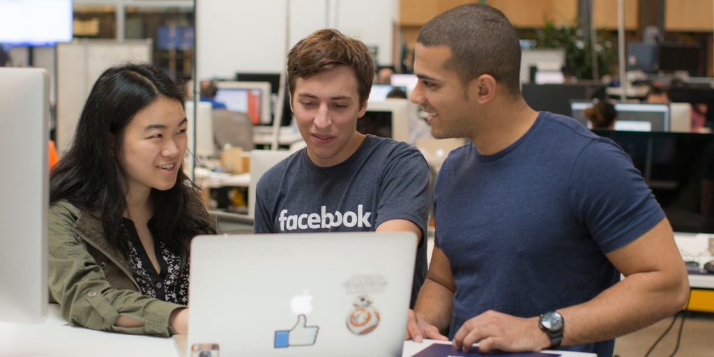 How to land an internship at Facebook: Be persistent, crave