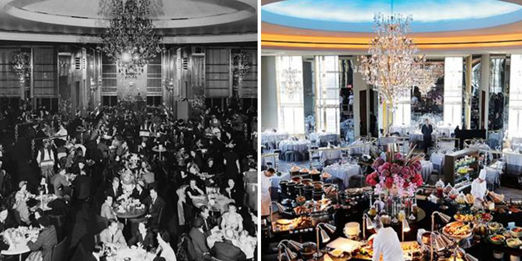 Rainbow Room Renovated See Inside Before The Today Wedding