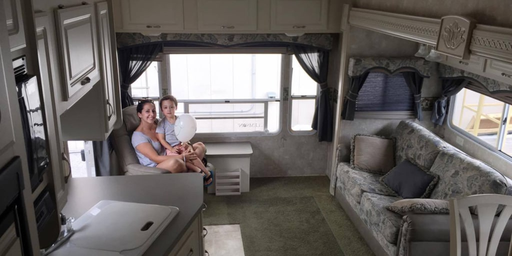 RV makeover: before and after photos