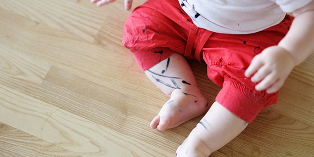 How to remove permanent marker from wood furniture