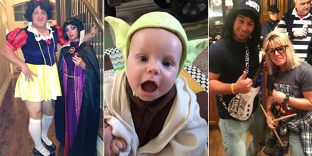 Halloween Costumes For Couples And Baby.61 Easy Last Minute Halloween Costumes