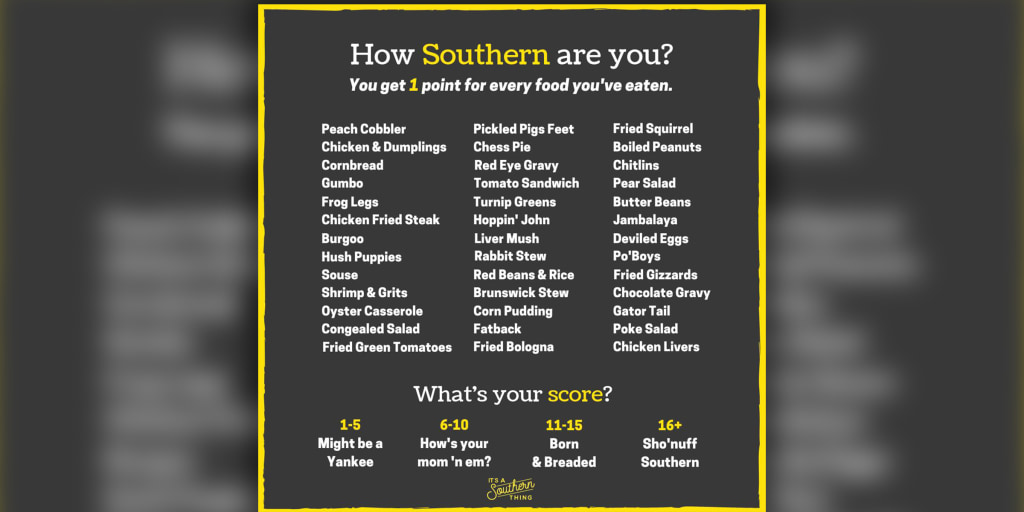 Have you tried pickled pigs' feet? This Southern food quiz is taking