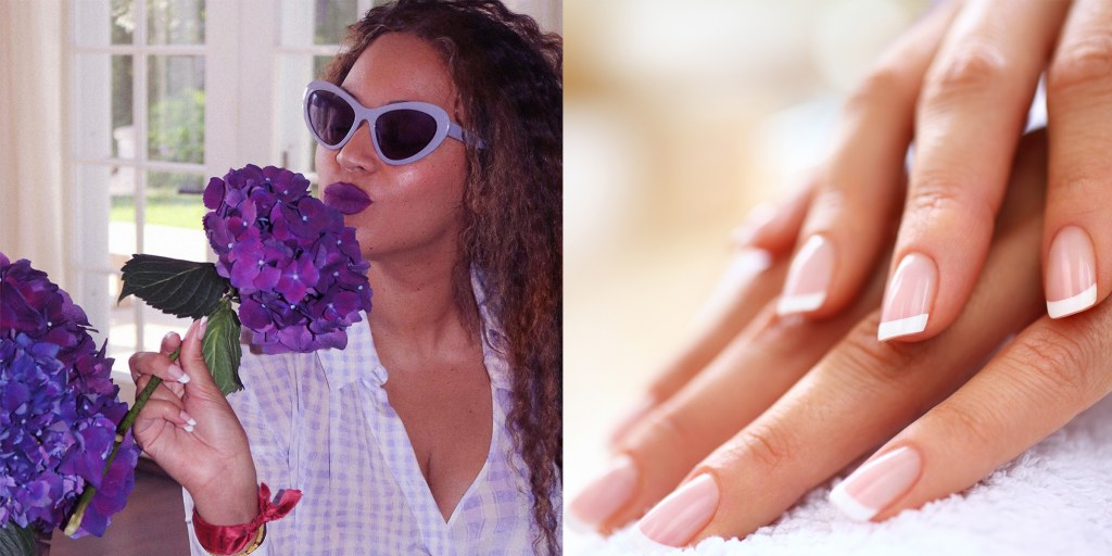 The French manicure is making a major comeback — are you on board?