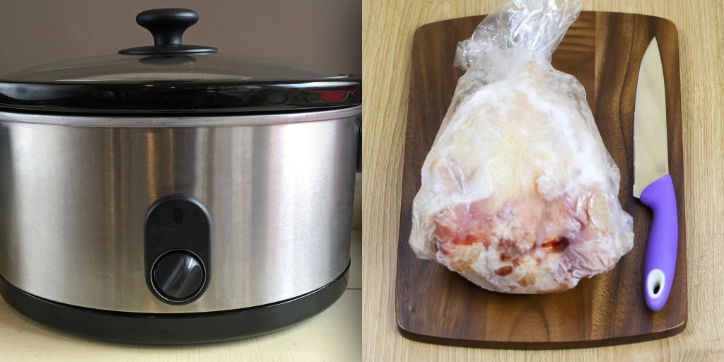 Why cooking frozen chicken in a Crock-Pot or Instant Pot may be unsafe