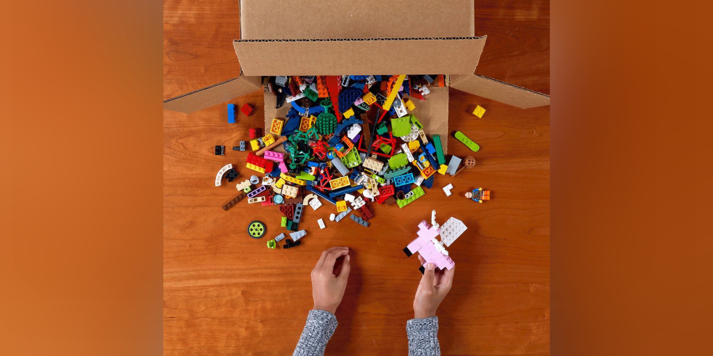 Parents can now donate used Legos for a good cause