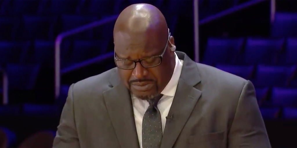 Shaquille O'Neal cries remembering Kobe Bryant: 'It definitely changes me'