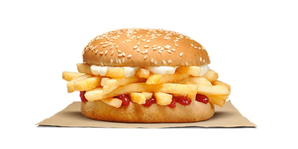 Burger King confuses the internet with 'burger' of just french fries