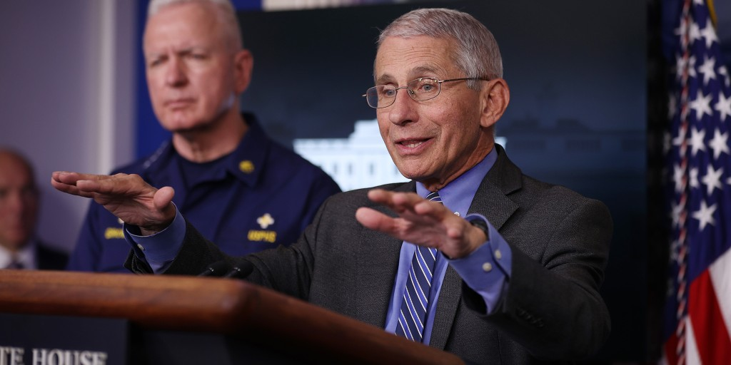US may never get back to 'normal' after coronavirus crisis, Dr. Fauci says