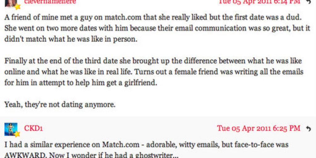 goede e-mails voor online dating