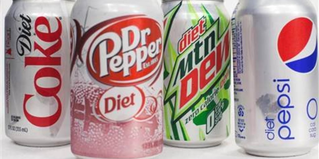 does diet soda contain uric acid