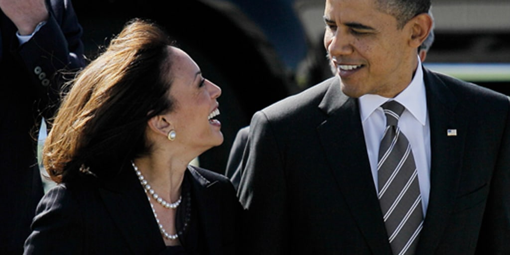 Obama Apologizes To Kamala Harris For Best Looking Attorney General Comment