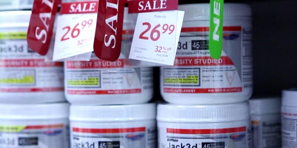 Dietary supplements taken off the market