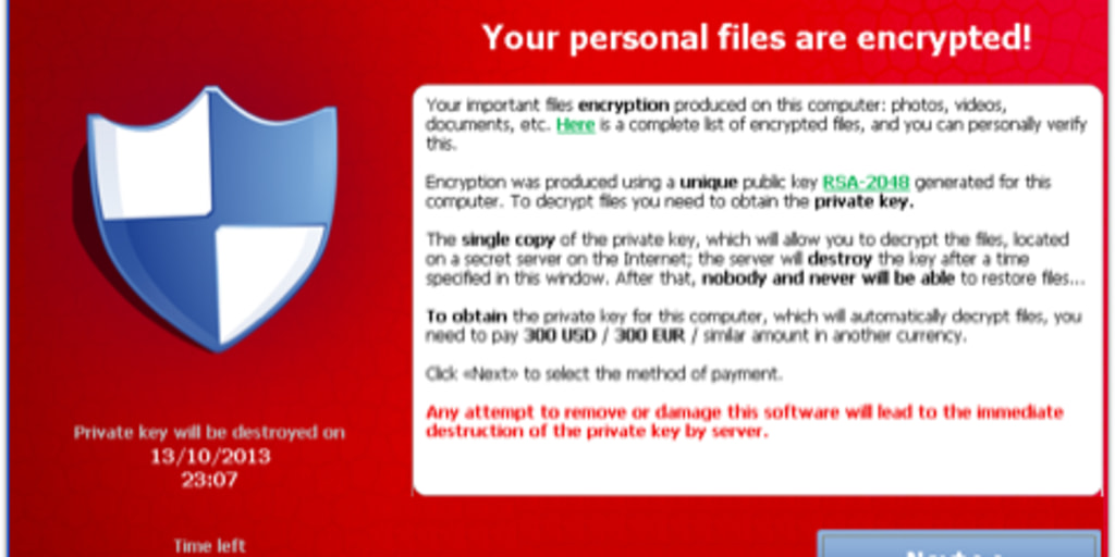 Nasty new malware locks your files forever, unless you pay ransom