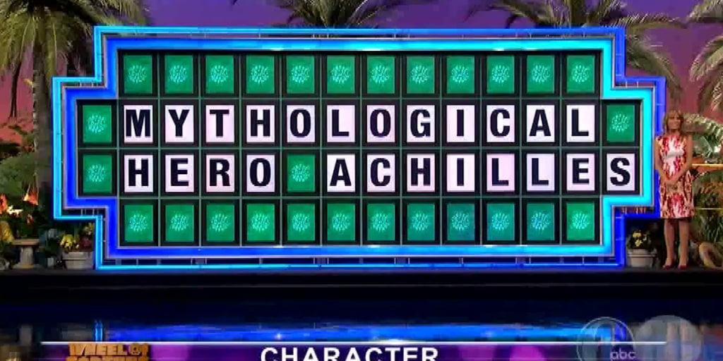 College student loses 'Wheel of Fortune' puzzle with all