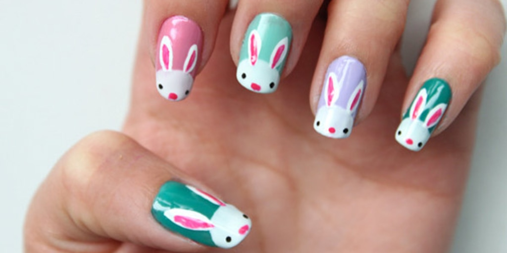 Eggs! 10 D-I-Y Easter nail art designs - Bunnies! Eggs! 10 D-I-Y Easter Nail Art Designs