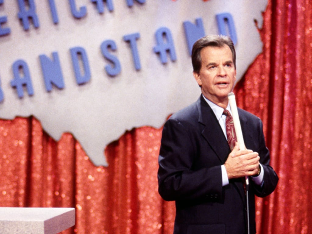 Image result for American Bandstand Dick Clark
