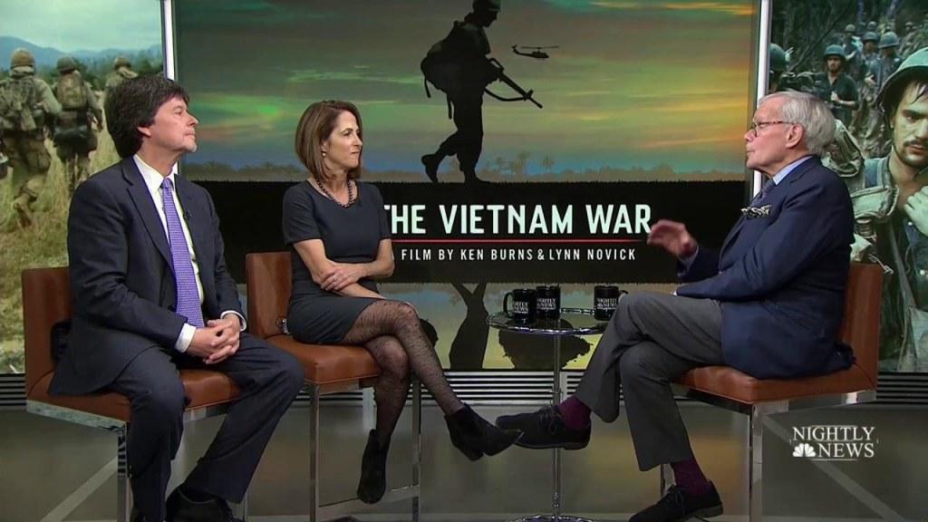 'Vietnam War' Filmmakers Speak to Tom Brokaw