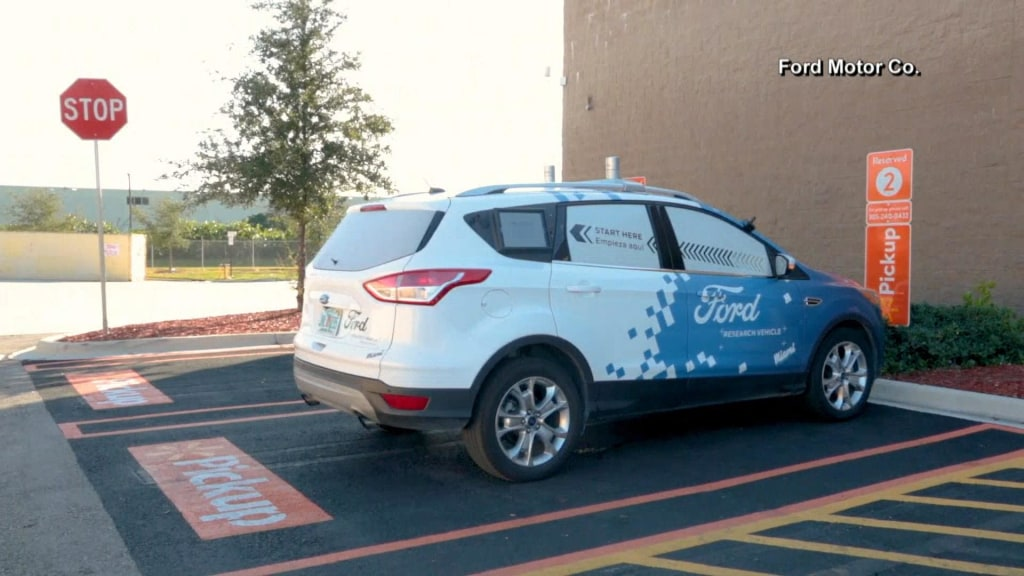 Cars That Start With J >> Ford And Walmart Team To Test Self Driving Car Deliveries